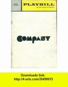 Playbill Company (Alvin Theatre - Larry Kert, Barbara Barrie) (Volume 7, December 1970, Issue 12) Joan Alleman Rubin, Andrew Herz, Haskel Frankel, Bernice Peck, Emory Lewis, Patricia Bosworth ,   ,  , ASIN: B004B6KYMS , tutorials , pdf , ebook , torrent , downloads , rapidshare , filesonic , hotfile , megaupload , fileserve