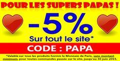 -5% de remise sur tout le site philantologie.fr