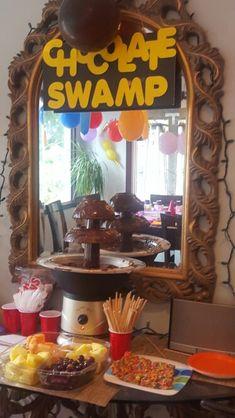 Chocolate swamp candyland