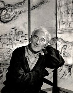 """Chagall's work does not fit neatly into the history of art, but well into a history of original thinking and fantasy art. He was not interested in the writings of Freud, but his work was dreamlike and appeared to be inspired by an imaginative unconscious. ... Quoting Francois Le Targat in his introduction in his book on Chagall, """"We must rediscover the soul of our childhood and give ourselves up to simply marveling; for his work is imbued with the marvelous..."""""""