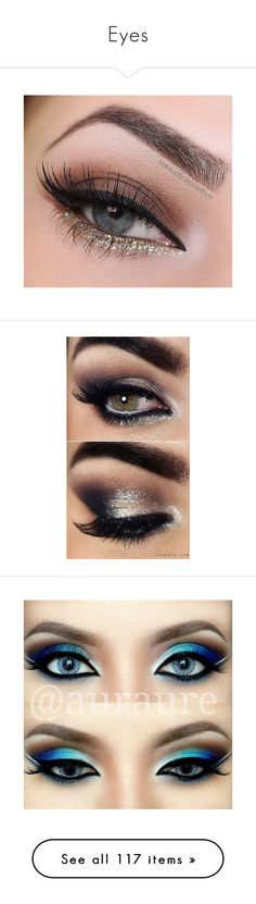 """""""Eyes"""" by gabbyriera ❤ liked on Polyvore featuring beauty products, makeup, eye makeup, eyes, beauty, laura geller, laura geller cosmetics, laura geller makeup, hair and makeup and eyeshadow"""
