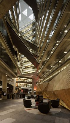 National Australia Bank (NAB) Docklands, VIC by Woods Bagot Architects