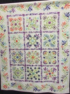 That Secret  made and quilted by Denise Havlan   Includes hand and machine…