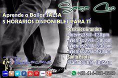 Aprende a Bailar #Salsa Invita un amigo al #SanoVicioDeBailar  #Rumbacana #BailaParaDivertirte  #Caracas #Venezuela #Baile