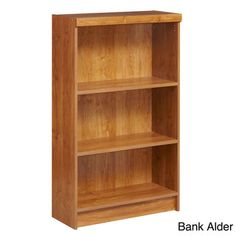 @Overstock - Use this three shelf unit for an unlimited number of applications including storing books, texts, collectibles, and pictures. This shelf features three fixed shelves and is available in a variety of versatile colors.http://www.overstock.com/Home-Garden/akadaHOME-Fixed-3-shelf-Bookcase/7633957/product.html?CID=214117 $91.99