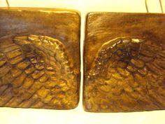 Angel Wings In The Sky  Wood Look  Finished by MountainArtCasting, $37.95