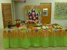 decoracão festa havaiana