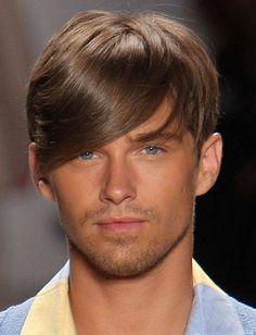 Mens Haircuts 2013: Long Bangs for guys