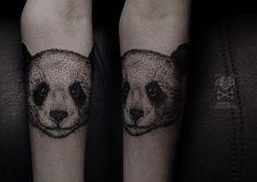 panda tattoo tumblr - Buscar con Google                                                                                                                                                                                 Más