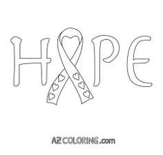 Hope coloring sheet designed by Paper Crave {via Vale