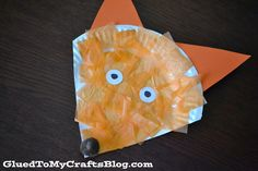 Glued to my Crafts: Dr Seuss Inspired - Easy Fox {Kid Craft}