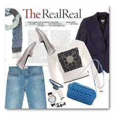 """Fall Style With The RealReal: Contest Entry"" by bonadea007 ❤ liked on Polyvore featuring D&G, Acne Studios, Christian Dior, Gucci, Chanel, Goyard, HUBLOT, Bottega Veneta and Sydney Evan"
