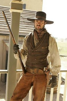 COMANCHE MOON (CBS-TV) - Karl Urban as 'Woodrow F. Call' - Based on novel by Larry McMurtry - CBS-TV Mini-Series.
