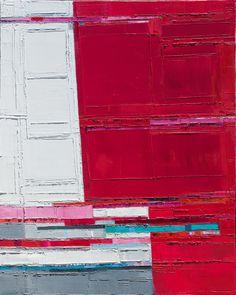 "Maya Kabat, Attempt to Cross 25, oil on canvas, 60"" x 48"""