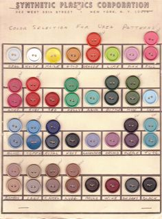 Synthetic Plastics Corporation--colors urea buttons