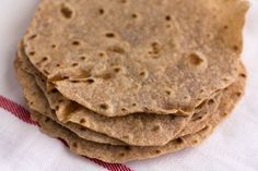 Whole Grain Tortillas | So easy and delicious! Trick is to not overcook otherwise they get crunchy.