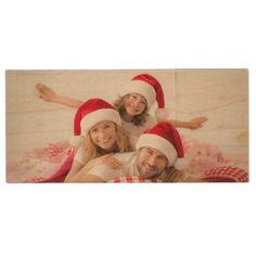 Christmas Pictures USB Drive to save Family Photos - diy christmas cyo xmas personalize holidays merry christmas