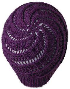 Free Knitting Pattern - Hats: Dizzy Spiral Cap