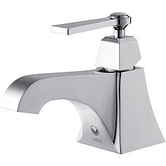 @Overstock - This modern chrome bathroom faucet is an attractive addition to any bathroom. With a tidy, single-handled design and a solid chrome-plated brass construction, this fixture will sparkle as it helps to keep your home clean in grace and style.http://www.overstock.com/Home-Garden/Vito-Plutus-Chrome-Single-Handle-Bathroom-Faucet/6432290/product.html?CID=214117 Add to cart to see special price