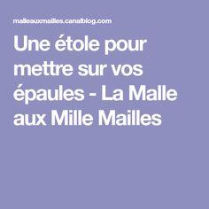 Une étole pour mettre sur vos épaules - La Malle aux Mille Mailles