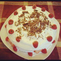 Raspberry Chocolate Cake Special Chocolate Raspberry Cake, Chocolate Cake, Pudding, Homemade, Cakes, Desserts, Recipes, Food, Bolo De Chocolate