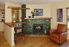 Image result for motawi tile fireplace