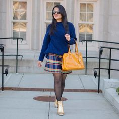 Preppy Work Outfit