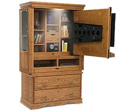 TV Cabinet doubles as storage