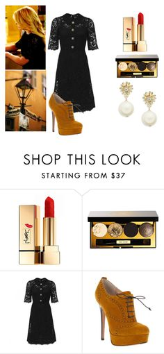"""I Don't Dance, Don't Ask, I Don't Need A Boyfriend"" by janny-janny ❤ liked on Polyvore featuring Yves Saint Laurent, Bobbi Brown Cosmetics, Dolce&Gabbana, Ballin and Kate Spade"