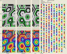 Схемы для вязанных жгутов из бисера - Ярмарка Мастеров - ручная работа, handmade