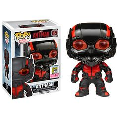 Funko's Ant-Man Black Out Pop! Vinyl Figure Unveiled ❤ liked on Polyvore featuring funko