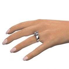 wide band solitaire ring - Google Search