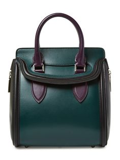 Alexander McQueen Heroine Mini Satchel. Why is everything that I fall in love with so damn expensive?