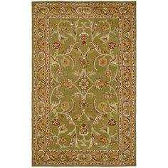 Bring stunning, antiqued color to your living area with this Paragon traditional rug. Crafted with pure wool, this handsome rug features an Oriental pattern. Primary materials: 100-percent wool Latex: