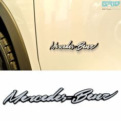 #Detailkorea #Grid #Car Name Cursive Lettering #Emblem for #Mercedes #Benz & #AMG #DETAILKOREA