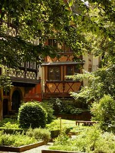 Jardin du musée de l'Oeuvre Notre-Dame - Strasbourg