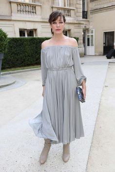 Milla Jovovich - Valentino Fall 2016 Haute-Couture Fashion Show in Paris - July 6, 2016