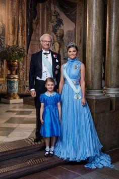 Crown Princess Victoria and Princess Estelle of Sweden