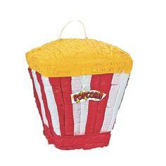 Movie Popcorn Piñata - OrientalTrading.com