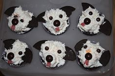 23 Trendy Ideas For Cupcakes Decoration Dog Doggies Dog Birthday Cupcakes, Puppy Dog Cupcakes, Puppy Cake, Oreo Cupcakes, Themed Cupcakes, Animal Cupcakes, Birthday Cakes, Raspberry Smoothie, Apple Smoothies
