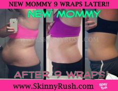 It took 9 months to gain it and only 9 wraps to lose it! Amazing results from this new mommy!! If it can work for her, why can't it work for you?