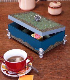 Caixa de chá / DIY, Craft
