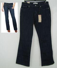 Levi's 515 Boot Cut Women's Mid Rise Jeans Sizes 10, 14 NEW #Levis #BootCut 29.99