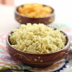 Arroz Verde (Mexican Green Rice) by sirime