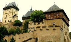 Karlstejn Castle - Constructed in 1348.