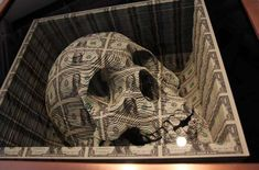 Currency art by Scott Campbell     via trendhunter.com