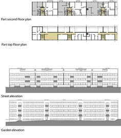 Weissenhofsiedlung apartments 1927 ludwig mies van der for Villas weissenhofsiedlung