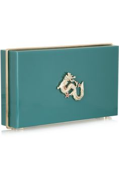 Charlotte Olympia | Dragon Pandora Perspex clutch