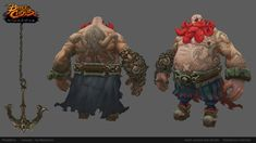 The last or almost the last character from Battlechasers. 3d Character, Character Design, Battle Chasers, 3d Hand, Game Art, Hand Painted, Artist, Artwork, Low Poly