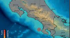 Sismo de magnitud 5,3 sacude la zona sur de Costa Rica
